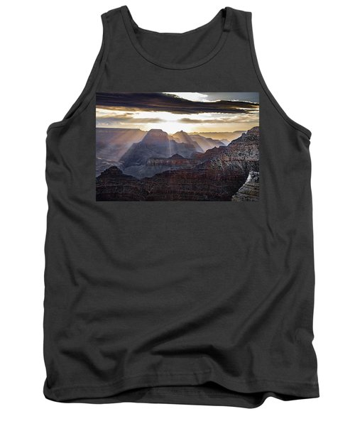 Tank Top featuring the photograph Sunrise Grand Canyon by Phil Abrams