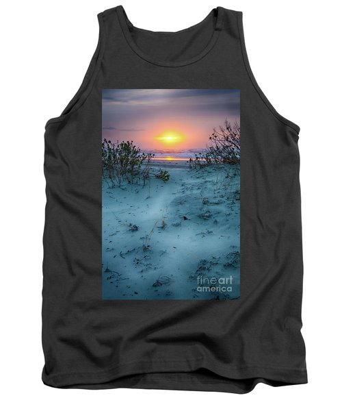 Sunrise Hike On The Outer Banks Tank Top by Dan Carmichael