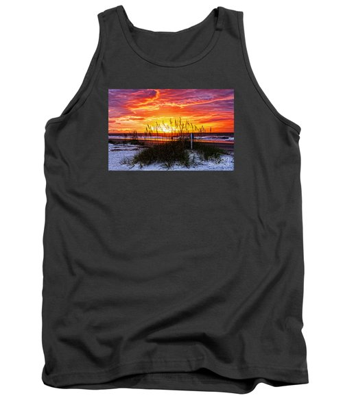 Sunrise Hilton Head Beach Tank Top