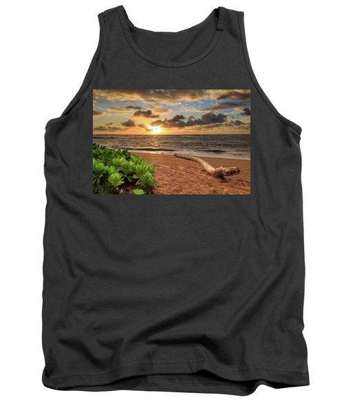 Tank Top featuring the photograph Sunrise In Kapaa by James Eddy