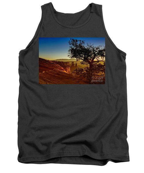 Tank Top featuring the photograph Sunrise Inspiration by Kristal Kraft