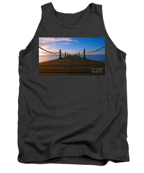 Sunrise Morning Bliss Pier 140a Tank Top