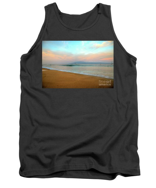 Tank Top featuring the photograph Sunrise On Ka'anapali by Kelly Wade