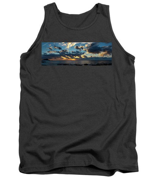 Sunrise On The French Riviera Tank Top