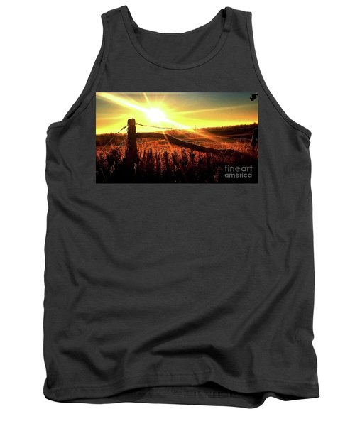 Sunrise On The Wire Tank Top