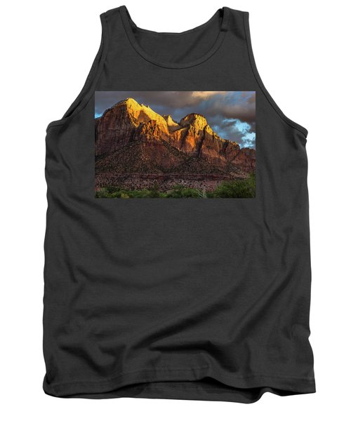 Sunrise On Zion National Park Tank Top