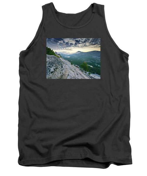 Sunrise Over Tenaya Lake - Yosemite National Park Tank Top by Brendan Reals