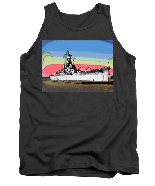 Sunrise Over The Alabama Tank Top by Charles Shoup
