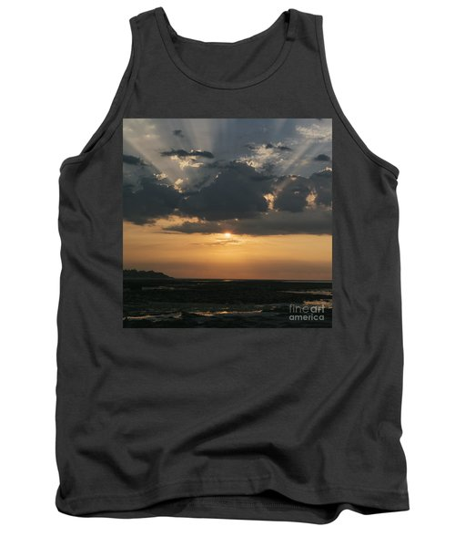 Sunrise Over The Isle Of Wight Tank Top