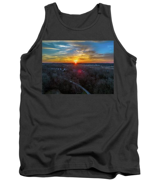 Sunrise Over The Woods Tank Top