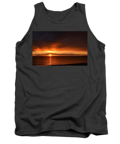 Sunrise Rays Tank Top by Nancy Landry