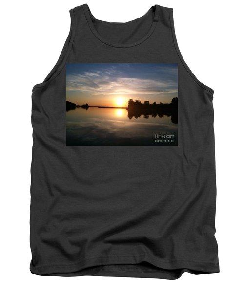 Sunset @ Rend Lake Tank Top