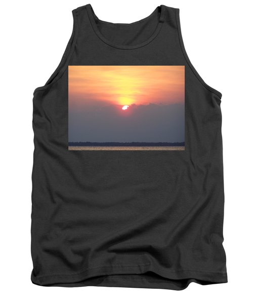 Tank Top featuring the photograph Sunset And The Storm by Sandi OReilly