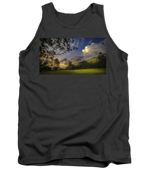 Sunset At Cocora Tank Top