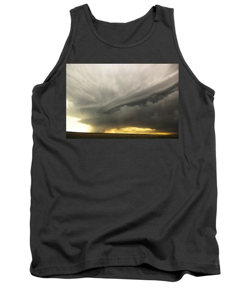 Sunset At Dalhart Texas Tank Top