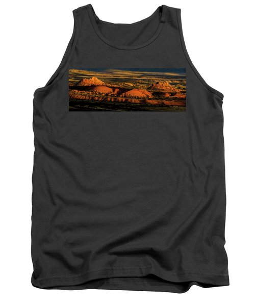 Sunset At Donkey Flats Tank Top