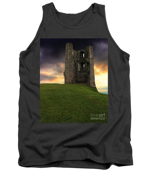 Sunset At Hadleigh Castle Tank Top