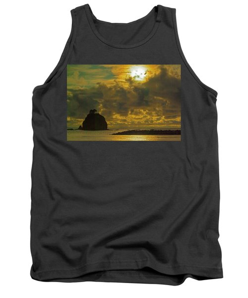 Tank Top featuring the photograph Sunset At Jones Island by Dale Stillman