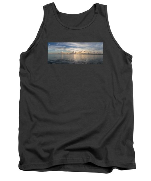 Sunset At Key Largo Tank Top by Christopher L Thomley