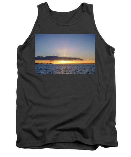 Sunset At Lough Derg Tank Top
