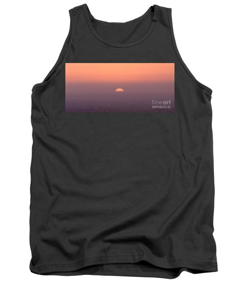 Sunset At Pacifica Tank Top