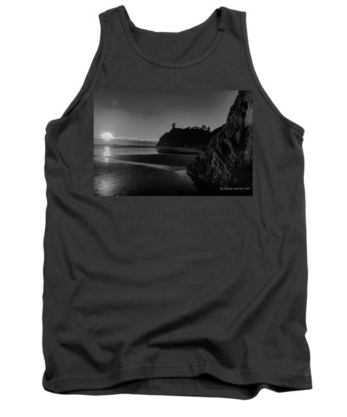 Sunset At Ruby Beach Tank Top