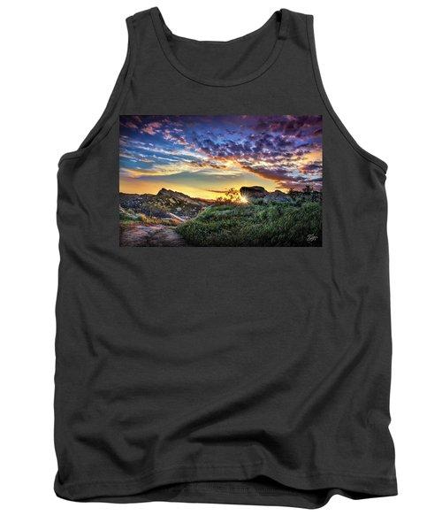 Sunset At Sage Ranch Tank Top