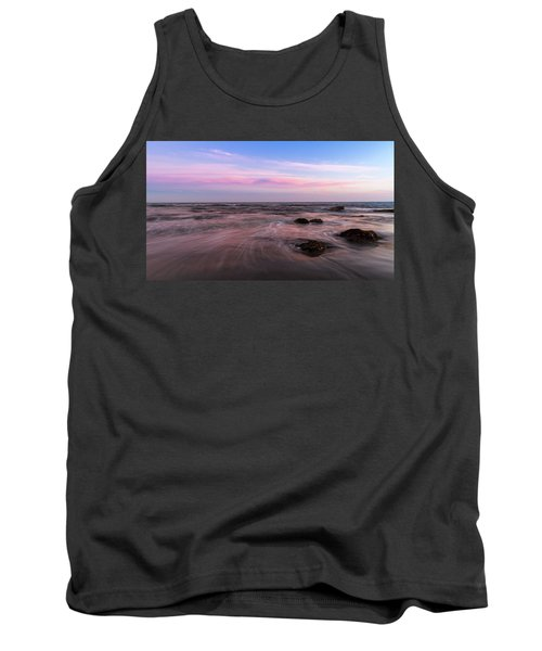 Sunset At The Atlantic Tank Top by Andreas Levi