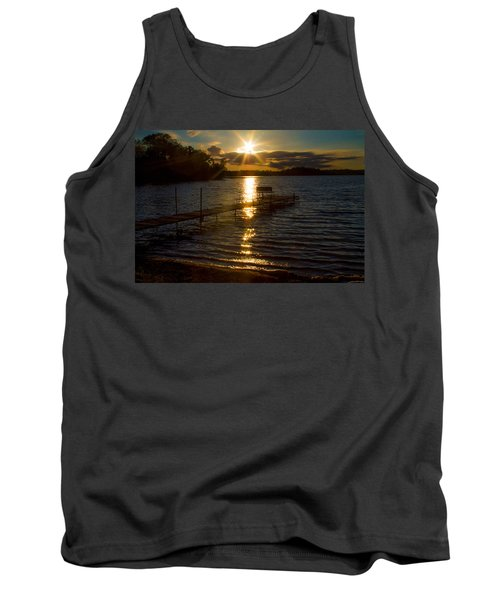 Sunset At The Lake Tank Top
