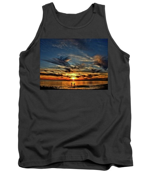 Sunset At The Waters Edge Tank Top
