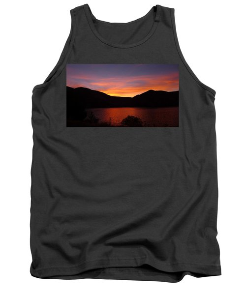 Sunset At Woodhead Campground  Tank Top