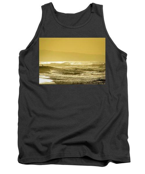 Sunset Beach Aglow  Tank Top