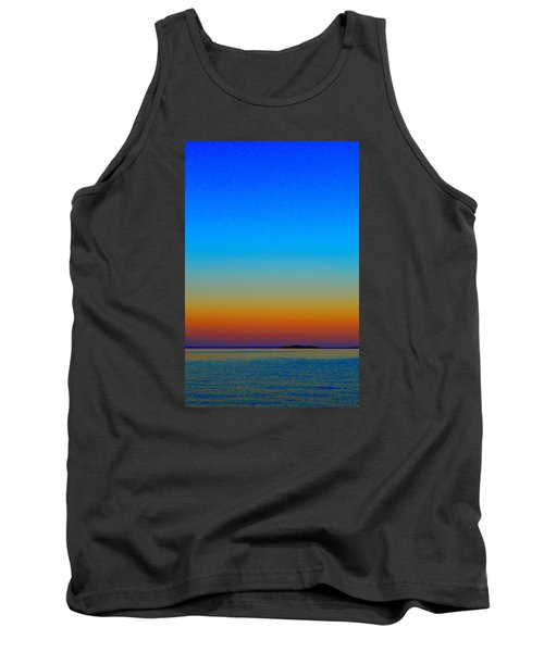 Tank Top featuring the photograph Sunset Blend South East 3  by Lyle Crump