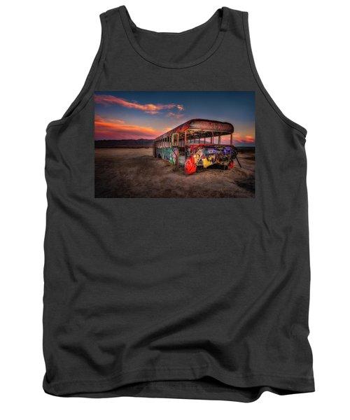 Sunset Bus Tour Tank Top