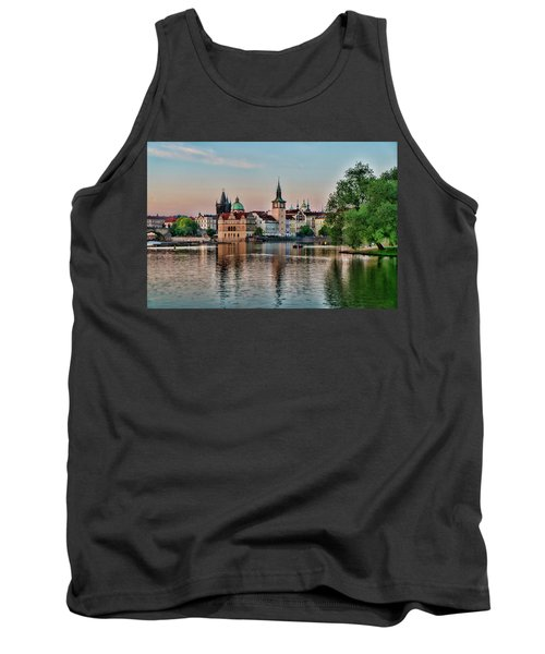 Sunset Cruise Prague Tank Top