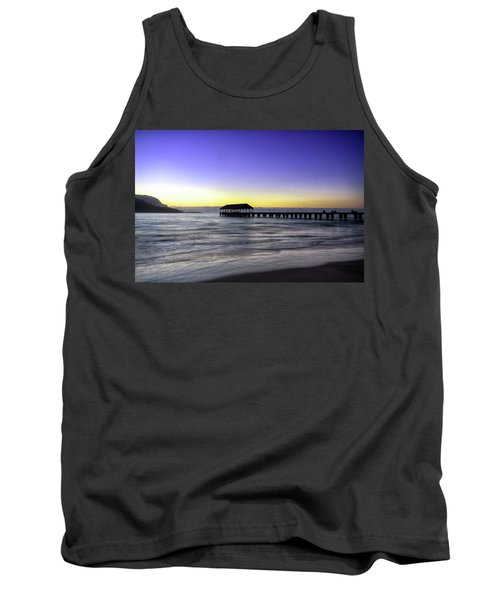 Sunset Fisherman Tank Top