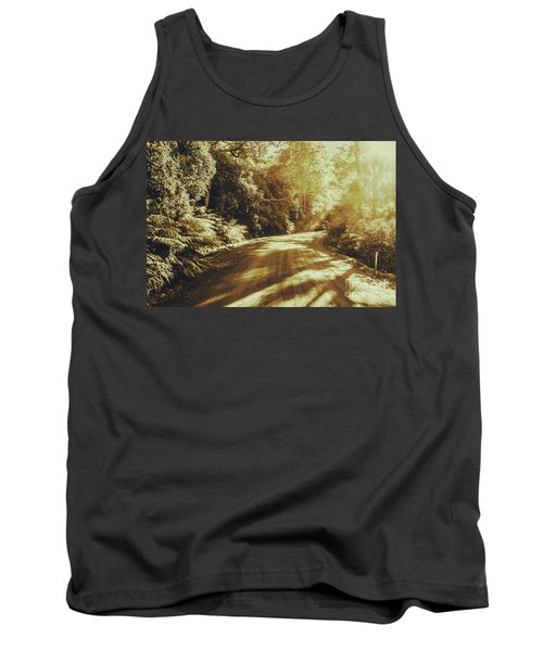 Sunset Forest Drive Tank Top