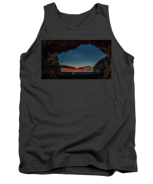 Sunset From Brady's Cave Tank Top