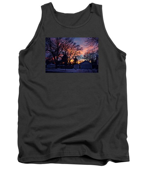 Sunset From My View Tank Top by Kathy M Krause