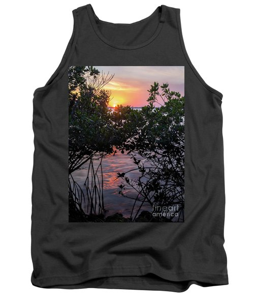 Sunset, Hutchinson Island, Florida  -29188-29191 Tank Top by John Bald
