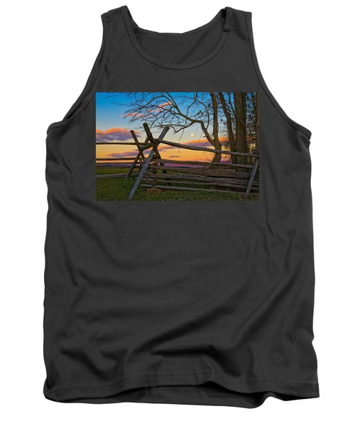 Sunset In Antietam Tank Top