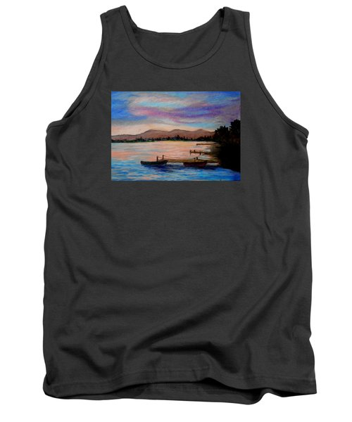 Sunset In Evia Tank Top