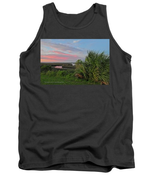 D32a-89 Sunset In Crystal River, Florida Photo Tank Top