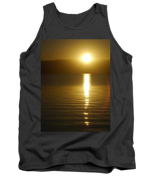 Sunset In January Tank Top