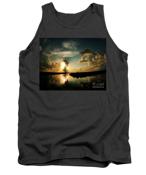 Sunset In Lacombe, La Tank Top