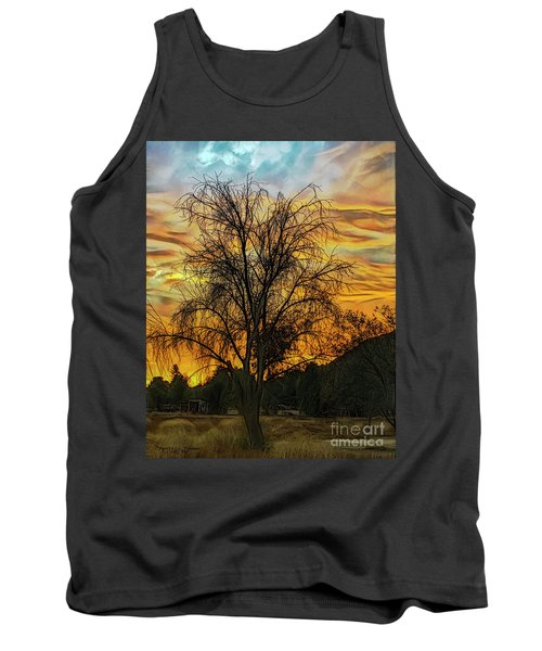 Sunset In Perris Tank Top