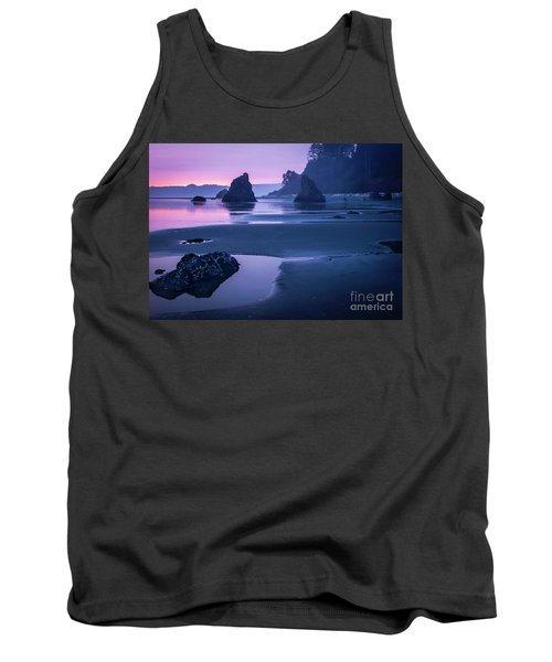 Sunset In Ruby Beach Tank Top