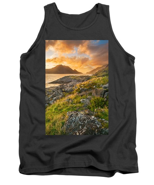 Sunset In The North Tank Top