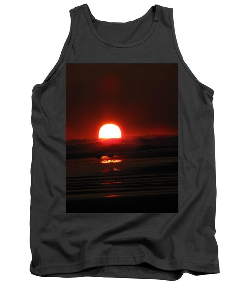 Sunset In The Waves Tank Top