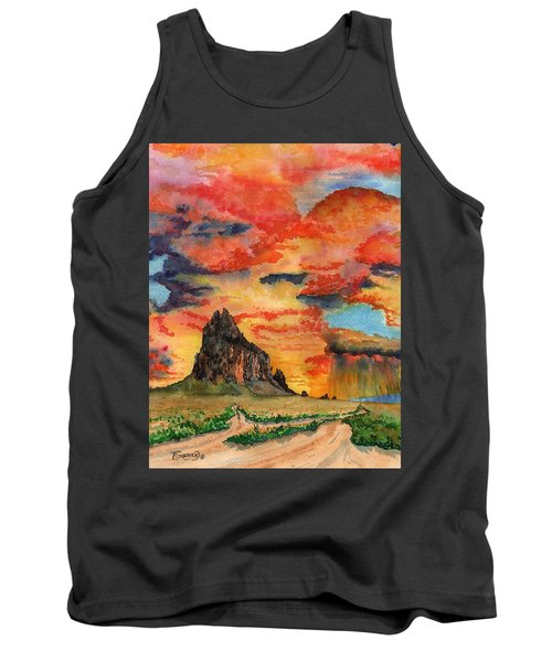 Sunset In The West Tank Top